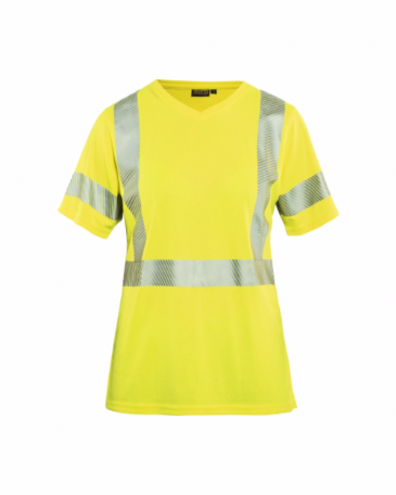 Blaklader 3336 Ladies High Vis T-Shirt (Yellow)